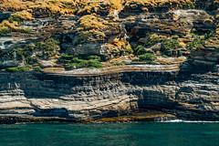 Ridges (Evie's Shots) Tags: green ocean hawaii kauai ridges wall rockwall