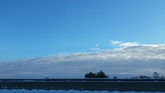 Beautiful Sky (Adventurer Dustin Holmes) Tags: missouri 2018 ozarks outdoor outdoors sky cloud clouds lowlight dawn morning early guardrail snow scenic landscape midwest northernhemisphere unitedstatesofamerica usa us