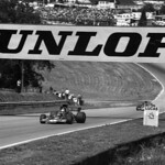 Ronnie Peterson has Lotus 72 E #72/R9 and Jacky Ickx with JPS Team Lotus thumbnail