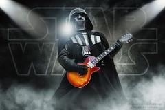 STAR WARS - Darth Vader rockin' with a Gibson Les Paul (Alessandro_Morandi) Tags: star wars darth vader rockin with gibson les paul