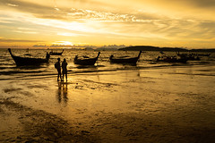 Aonang beach, Krabi, Thailand (jonasfj) Tags: sonya7iii a73 a7mk3 ilce7m3 fe28703556oss sony krabi aonang beach landscape sunset silhouettes silhouette thailand water sky boat boats people reflections sun enjoy enjoying swim swimming longtail andamansea sea ocean phuket vacation holiday tourist tourists paradise seascape