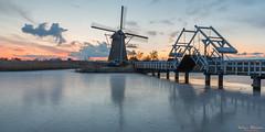 Kinderdijk February this Year (Wim Boon Fotografie) Tags: kinderdijk windmill winter winterlicht sunset unescoworldheritage holland nederland netherlands alblasserwaard alblasserdam winter2018 canoneos5dmarkiii leefilternd09softgrad canonef2470mmf28liiusm