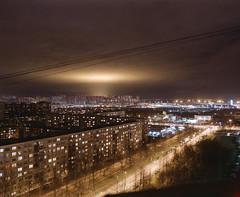 (ivan_n_n) Tags: bronica gs1 zenzanon 65mm 6x7 film spb architecture cityscape urban night longexposure kodak aerocolour