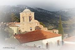 Μονή Οσίου Λουκά - Hosios Loukas (Eleanna Kounoupa) Tags: ελλάδα βοιωτία μονήοσίουλουκά μοναστήρια αρχιτεκτονική μεσοβυζαντινήτέχνη greece hosiosloukas monastery architecture boeotia στερεάελλάδα καμπαναριό belltower history ιστορία