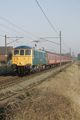 KT 86101 brock 1z43 0633 carlisle- holyhead 240307.jpg (Kevin truby) Tags: wcml classic traction class86 86101 brock