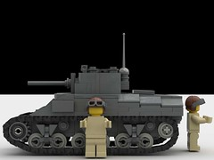 M4 sherman side (SirLuftwaffles) Tags: tank ww2 lego luftwaffles luftwaffle sherman m4