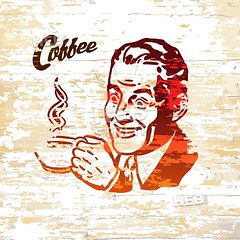 Vintage coffee men icon on wooden background (Hebstreits) Tags: arab art background beard business businessman cafe cappuccino cartoon coffee computer creative cup design drink drinking drinks espresso flat fox geek go hand happy hipster holding icon illustration isolated logo male man men office paper people person rest restaurant retro steam stylish symbol tea time vector vintage wooden working