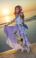 _MG_8984_1 (Mauro Petrolati) Tags: elisa runeterrae runeterra maki nishikino love live angel rimini comix 2018 cosplay cosplayer alba sunrise beach spiaggia set sea mare idol