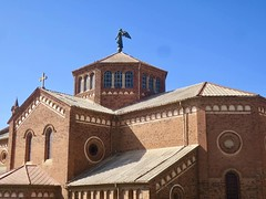 "Day 2 in ERITREA: Friday 14th Dec 2018: The St. Joseph's Cathedral was constructed between 1921 and 1923 and is thought to be one of the finest Lombard – Romanesque –style churches outside Italy.  Asmara, Eritrea  Dec 14th, 2018 #itravelanddance • <a style=""font-size:0.8em;"" href=""http://www.flickr.com/photos/147943715@N05/47023235731/"" target=""_blank"">View on Flickr</a>"