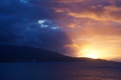 Azores Sunrise (Toats Master) Tags: azores portugal pontadelgada sunrise morning sky clouds water ocean blue sea port