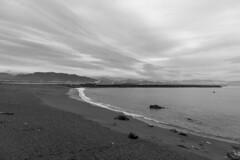 beach (Hideki-I) Tags: beach ocean water sea sand wave nikon d850 2470 sky cloud kochi katsurahama coast nature bw blackandwhite monochrome 白黒 黑白