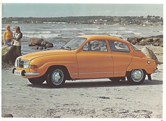 SAAB 96 (Hugo-90) Tags: saab 96 ads advertising brochure auto automobile 1974