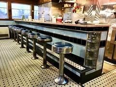 A1 Diner interior. (63vwdriver) Tags: maine gardiner 790 diner vintage worcesterlunchcar