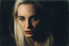 Envy's Eyes (Marina Pokupcic) Tags: envy portrait portraits woman beauty dark surreal surrealism photomanipulation moody