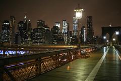 Brooklyn bridge, NYC (Yannis Raf) Tags: nyc newyork usa brooklyn brooklynbridge bridge night travelphotography urbanphotography lights nightlights canon eos6d tamron35mmf18