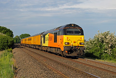 67023 67027 Burbage Common (CD Sansome) Tags: trains colas rail test 67023 67027 67 burbage common road hinckley