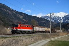 1142 683, NG 67502, Markt Sachsenburg - Kleblach-Lind (M. Kolenig) Tags: 1142 güterzug rca berg wald schnee