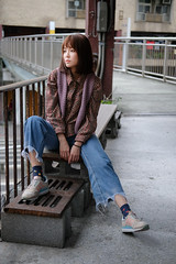 DSCF0961 (Orson Wang) Tags: 妙妙 繆琬瑜 台北 外拍 富士 環南公寓 環南 taipei taiwan