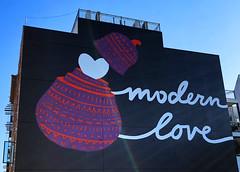 Modern Love by ??? (wiredforlego) Tags: streetart urbanart publicart graffiti williamsburg brooklyn newyork nyc