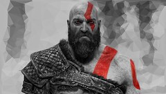 """""""The Ghost of Sparta."""" (Xenolith3D) Tags: godofwar gow kratos atreus god photomode virtualphotography hd 4k ps4 screenshot gamephotography ps4share filter portrait portraitphotography playstation mythology art digitalart game gameart gamescreenshot warrior effect"""