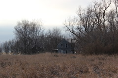 House Of Gray (ballclub40- Picking up the pieces.....) Tags: midwest iowa farmhouse abandoned derelict