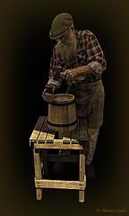 The 'Cooper'  (In Explore) (Aussie~mobs) Tags: cooper trade losttradesfair 2018 toowoomba queensland australia bucket making