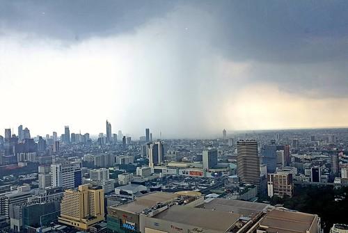 Rain spot