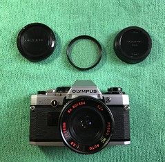 new kits 35mm (HijoDMaite) Tags: 35mm film filmphotography slr vintagecamera