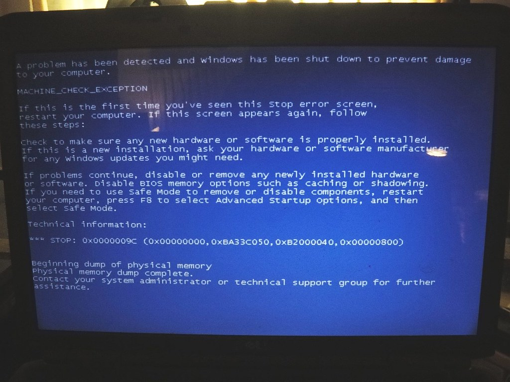 The World's Best Photos of bsod and dell - Flickr Hive Mind