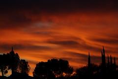 Sunset 12 23 18 #04 (Az Skies Photography) Tags: sunset sun set dusk twilight nightfall sky skyline skyscape cloud clouds red orange yellow gold golden salmon black december 23 2018 december232018 122318 12232018 rio rico arizona az rioricoaz arizonasky riorico arizonaskyline arizonaskyscape canon eos 80d canoneos80d canon80d eos80d