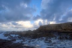 3954_alone (Realmantis) Tags: storm ocean cloud alone scape