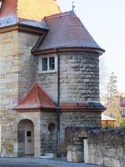 an der Riedmauer Arnstadt (germancute) Tags: arnstadt ried turm thuringia thüringen stadt building history