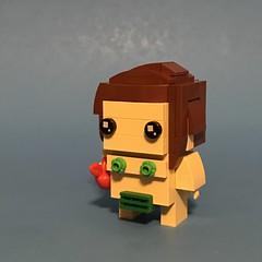 Lego Brickheadz Eve (Max to the well) Tags: lego brickheadz adam eve garden eden apple fobidden serpent snake tree knowledge good evil