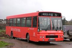 Bus Eireann DA4 (93C2504). (Fred Dean Jnr) Tags: buseireannroute205 cork buseireann daf sb220 alexander setanta da4 93c2504 oldmallowroadcork february2004 wrap vodafone alloverad