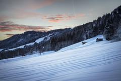 Niederau, Austria (Phil Spalding) Tags: austria ski skiing snowboard snowboarding snowy snow frost tirol niederau auffach wildschönau sunset sunrise cool cold blue pink sky canon 6d l 24105