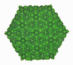 Teardrop twist ring Tessellation (mganans) Tags: origami tessellation