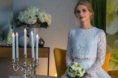 bride (Plamen Troshev) Tags: bride dress white face look eye light beauty