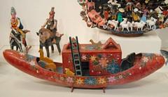 Mexican Lacquer Noahs Ark Boat Guerrero (Teyacapan) Tags: mexico crafts guerrero olinala laca lacquer noahsark boats artesanias temalacatzingo nahua museo