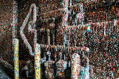 Yummy Gum Wall (Jonne Naarala) Tags: x100f usa gumwall fujix100f seattle gum fujifilmx100f