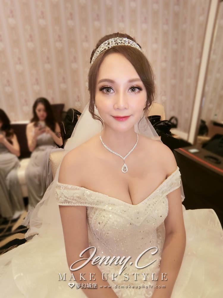 【新秘蓁妮】bride妞妞 宴客造型 /市政路寶麗金