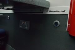 22308, Heuston, 21/11/18 (hurricanemk1c) Tags: railways railway train trains irish rail irishrail iarnród éireann iarnródéireann dublin heuston 2018 22000 rotem icr rok 3pce 22008 interiorrefurbishment 1730heustongalway interior 22308