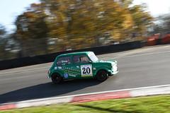 Dunlop Mini Se7en & Dunlop Mini Miglia 0 Plate Trophy Mini Miglia (Mark Sims) (motorsportimagesbyghp) Tags: brandshatch motorsport motorracing autosport minise7en mini7 minimiglia marksims dunlop barc nationalchampionship