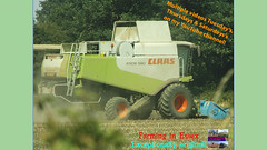 Two (TheFarmer123OnYouTube-photos) Tags: claas claaslexion claaslexion580 lexion580 beans harvest18 farming