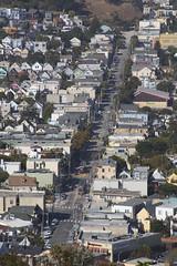 Views from Bernal Hill (I) (imartin92) Tags: sanfrancisco california bernal heights hill municipal railway muni jchurch streetcar lightrail transit