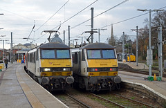 90006, 90005 & 37419 Norwich (Chester025) Tags: 90006 90005 37419 norwich