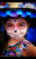 Mission San Luis Rey Day of the Dead 2018 (Sam Antonio Photography) Tags: sanluisreymission face female makeup death decoration tradition dead skull art girl skeleton celebration catrina spooky folklore young horror holiday calavera portrait costume mexico festival closeup roses traditional diadelosmuertos katrina gothic mexican eyes dayofthedead mexicanculture smile