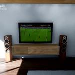 Watching football in virtual room