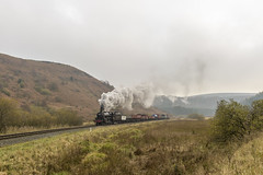 NELPG Charter (4486Merlin) Tags: 5428 countryside england erictreacy europe exlms heritagerailways lms5mtblackfive landscape northeast northyorkshire northyorkshiremoorsrailway railways steam transport unitedkingdom fenbogellerbeck gbr nelpg nelpgcharter