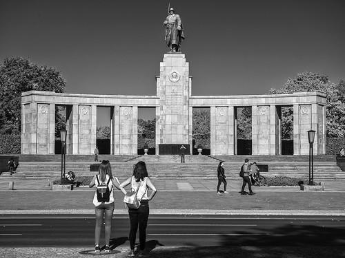 The Soviet War Memorial, Tiegarten, Berlín