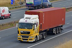 EY63 RZL (Martin's Online Photography) Tags: man tgx truck wagon lorry vehicle a1m fairburn northyorkshire nikon nikond7200